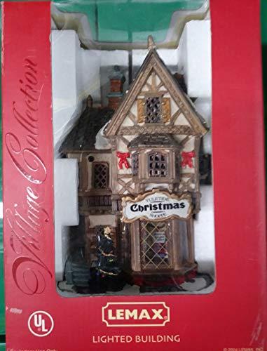 Lemax Negozio articoli di Natale - Tannenbaum Christmas Shoppe cod 35845