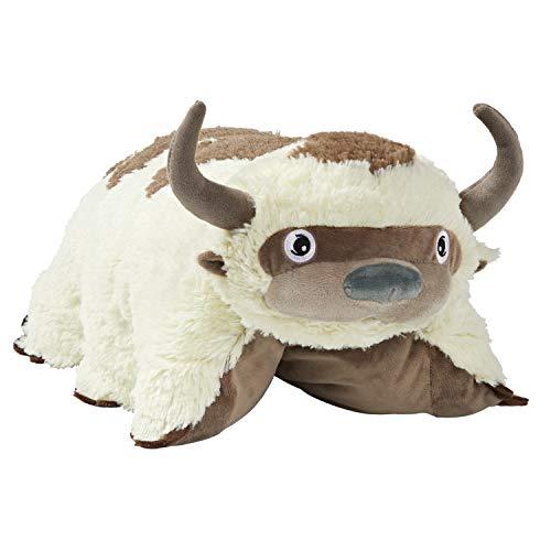 "Pillow Pets 30"" Jumboz Appa Stuffed Animal, Nickelodeon Avatar: The Last Airbender Plush Toy, White"