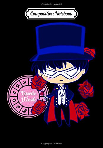 Composition Notebook: TUXEDO MASK KAWAII, Journal 6 x 9, 100 Page Blank Lined Paperback Journal/Notebook