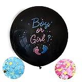 Geschlecht Offenbaren Party,Luftballons Mädchen Oder Jungen,Baby Shower Party Dekorationen,Konfetti Füllung Rosa Blau Offenbaren Ballon Dekoration Baby Party,überraschung Party,Geschlecht Baby