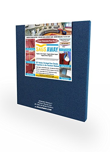 Ultimate Sagging Cushion Repair Solution By SagsAway. Flexible and Dense Foam Insert To Fix ...