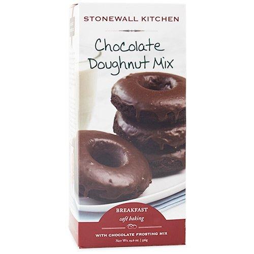 Stonewall Kitchen Chocolate Doughnut Mix, 19.6 Ounces