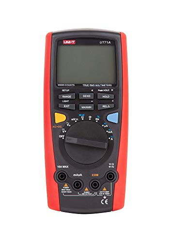 UNI-T UT71A/MIE0091 UT71A MIE0091 - Multimetro digitale AC DC LCD