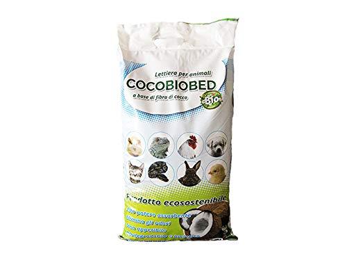 Geosism & Nature Fibra di Cocco (terriccio), lettiera per Animali, Cocobiobed (2,5 kg - 10 lt)