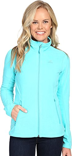 adidas Damen Outdoor Hiking Reachout Fleece Jacke, Damen, Vivid Mint, X-Small