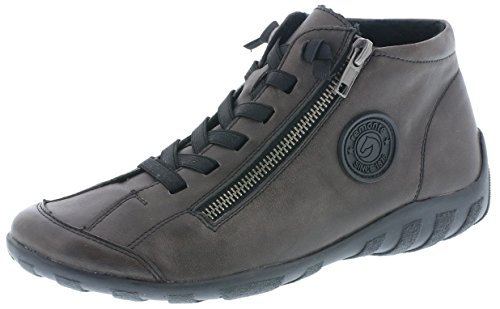 Remonte Damen R3491 Hohe Sneaker, Grau (Graphit 45), 39 EU