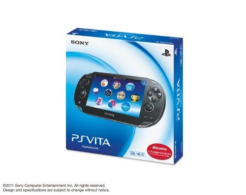 플레이 스테이션 VITA 3G | WI-FI 모델 크리스탈 블랙 (일본 수입)