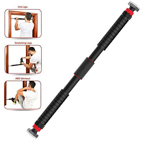 Pull Up Bar deurkozijn Geen Schroeven, Deur Horizontaal Fixed Buckle Oefening Thuis Workout Gym Training Sport Fitness 160kg, Chin for veilig en duurzaam staal Pipe lili (Size : 110cm*140cm)