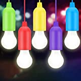 Lampade led campeggio,Lampada LED da Campeggio,Light Portatili Lampade Tenda LED, Lampadina,Luce Decorativa,Luce da Emergenza(5 pezzi) per Lampadine ,Campeggio, Tenda, Festa, da Esterno o da Interno