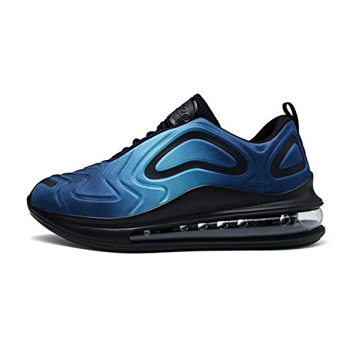 Homme Chaussure de Course Outdoor Sneakers Mode Sport Walking Shoes Running Compétition Entraînement Chaussure Black_Red EU43