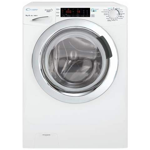 Candy GVF4138TWHC/2-01 Libera installazione Carica frontale 8kg 1300Giri/min A+++ Bianco lavatrice