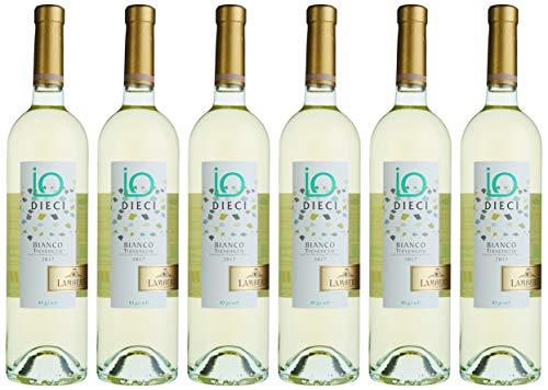 Lamberti Dieci Bianco 10% Weißwein feinherb (6 x 0.75 l)