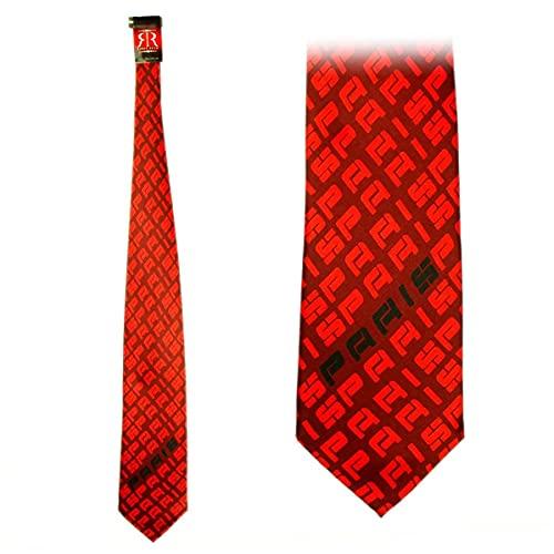 Cravate Paris Robin Ruth - Rouge