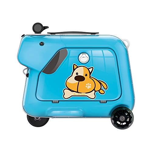 Airwheel SQ3 Kids Electric Luggage Rideable Children's Trolley Suitcase (Blue)