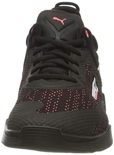 PUMA 194424, Zapatillas de Gimnasio Mujer, Negro Ignite Rosa, 37.5 EU