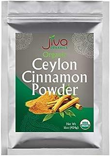 Organic Ceylon Cinnamon Powder 1 LB Bulk - Ground Raw, Non-GMO for Cooking & Baking - From a USDA Certified Organic Farm -...
