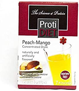Ideal Protein Compatible ProtiDiet High Protein Peach-Mango Concentrated Drink Mix