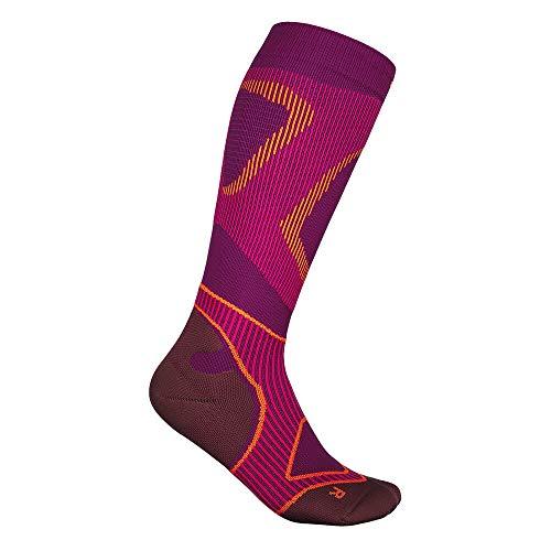 BAUERFEIND Laufsocken Run Performance Compression Socks, 1 Paar Sportsocken für Laufen & Fitness, Kniestrümpfe für Damen mit Targeted Compression Zone