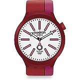 [スウォッチ] 腕時計 BB KURENAI RED SO27Z101 正規輸入品