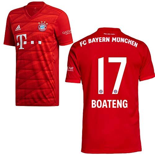 adidas FCB FC Bayern München Trikot Home Heimtrikot 2019 2020 Herren Boateng 17 Gr L