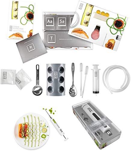 Molecule-R Kit Completo de Gastronomía Molecular + Jeringa Culinaria Profesional ¡DE REGALO!