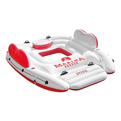 Intex – Materassino gonfiabile Isola Marina Breeze, 56296)