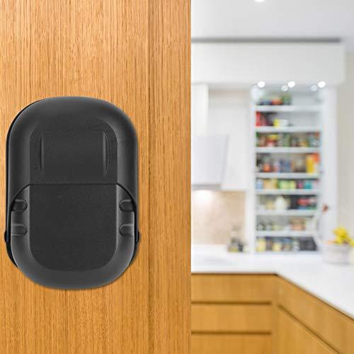 Herramienta de seguridad Caja fuerte con llave de seguridad Caja fuerte con llave robusta Hogar conveniente para el hogar(Black waterproof case +1 yuan)