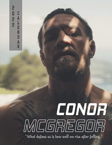 Conor McGregor Calendar 2022: A great gift for yourself, friends, family and co-worker with 18-month Monthly Calendar from Jul 2021 to Dec 2022 in 8.5x11 inch