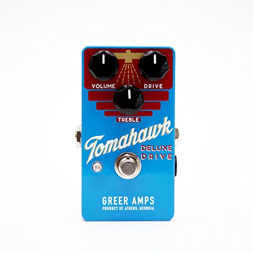 Greer Amps Tomahawk Deluxe Drive Guitar Pedal