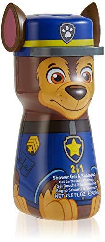 Paw Patrol 2in1 Duschgel & Shampoo - 3D Figur Chase, 1er Pack, 400ml