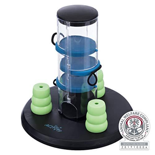 Trixie Gambling Tower Strategiespiel Spielzeug für Hunde 32016