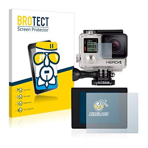 brotect Pellicola Protettiva Vetro Compatibile con GoPro Hero4 Silver Schermo Protezione Durezza 9H, Anti-Impronte, AirGlass