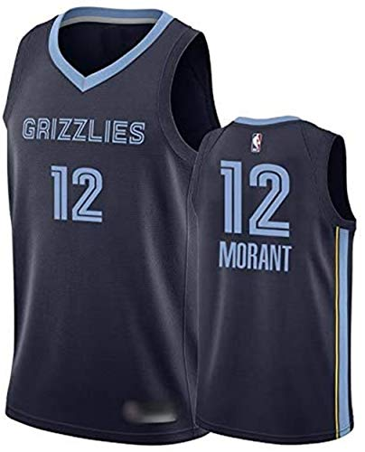 EDD # 12 Ja Morant Declaración Edición Baloncesto Jersey Grizzlies Jerseys cosidos...