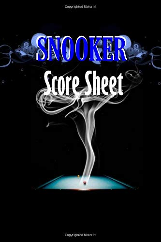 Snooker score sheets: paperback for tracking who-done-it in your favorite murder mystery game.