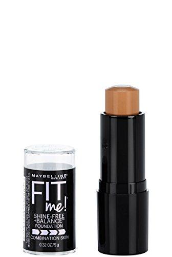 Maybelline New York Fit Me Shine-Free + Balance Stick Foundation, Toffee, 0.32 oz.