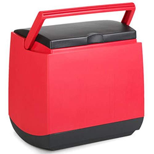 SSLL 25 Liter Mini Kühlschrank Kompressor-Kühlbox Gefrierschrank Elektrische Kühlbox Gefrierbox Tragbare Auto Absorber-Kühlbox Für Auto Zuhause Büro Picknick Im Freien
