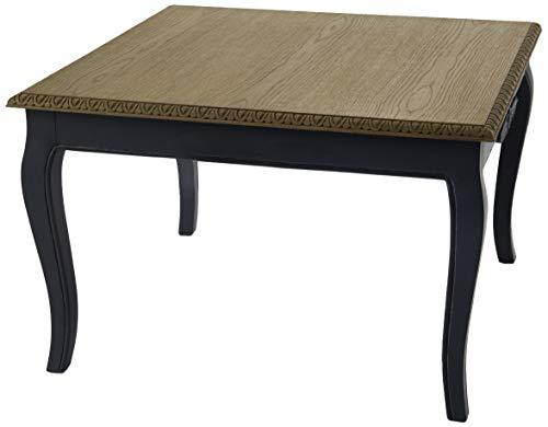 Amadeus Table Basse chêne plaqué Seine Bleue