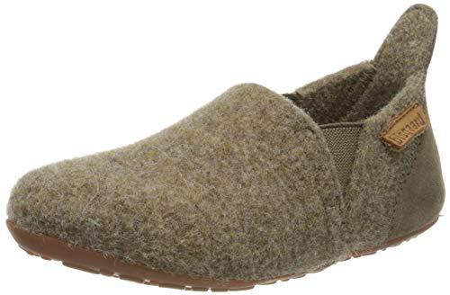 Bisgaard Unisex-Kinder Sailor Wool Niedrige Hausschuhe, Braun (Camel 46), 27 EU