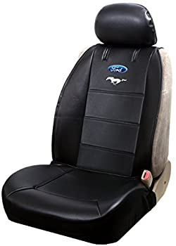 Plasticolor 008614R01 Sideless Seat Cover  Ford Mustang 50 Year Anniversary