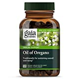 Gaia Herbs Oil of Oregano, Vegan Liquid Capsules, 120 Count - Immune and Intestinal Support for Healthy Digestive Flora
