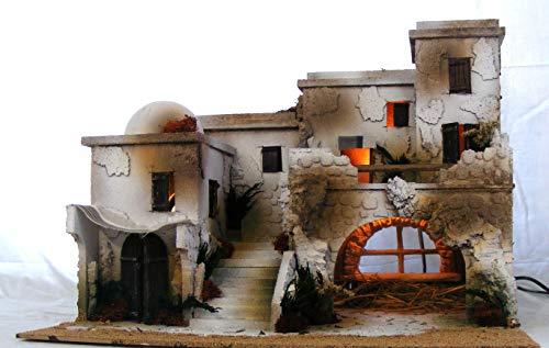 De Sisinno Laterali Castello per presepe H19x13x3 cm