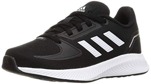 adidas RUNFALCON 2.0 K, Zapatillas de Running, NEGBÁS/FTWBLA/Plamet, 33 EU