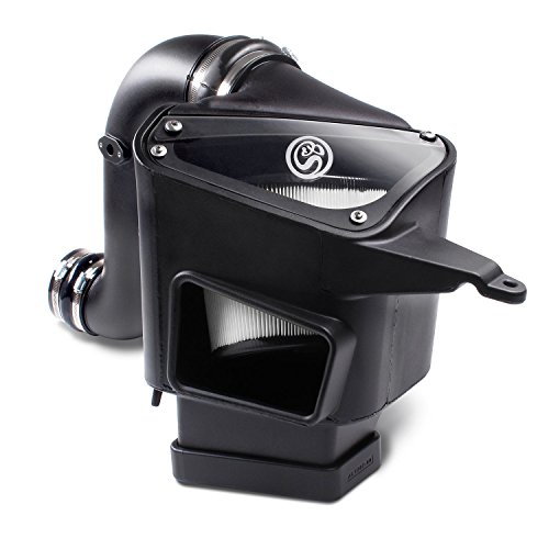 S&B Filters 75-5094D Cold Air Intake For 2003-2007 Dodge Ram Cummins 5.9L (Dry Extendable Filter)