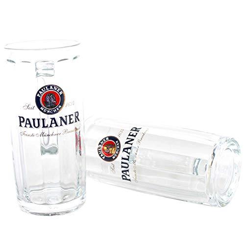 Paulaner Gläser 2er Set Moldau Exklusiv Seidel 0,3l geeicht ~mn 255 7h1l+