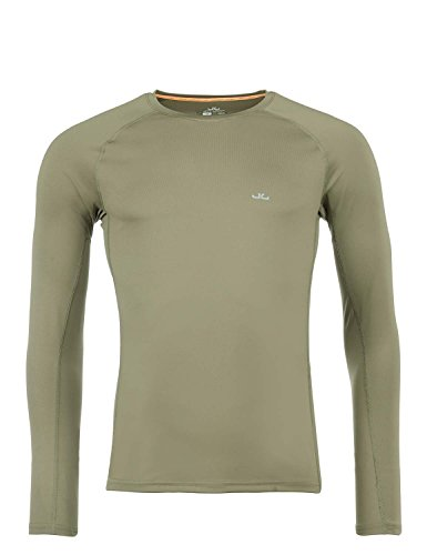 Jeff Green T-Shirt Technique Manches Longues Respirant Hommes Mailo, Taille - Hommes:58, Couleur:Mud