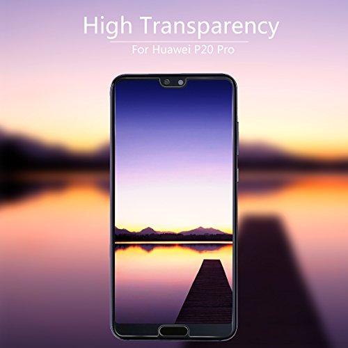 VICKSONGS (3Stück Schutzfolie für Huawei P20 Pro,[Ultra Clear] Displayschutzfolie (Nicht Glas) PET Soft Displayschutz [Anti-Bläschen][Anti-Fingerabdruck] Screen Protector für Huawei P20 Pro - 3