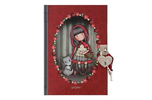 Gorjuss - Diario Con Candado Gorjuss - Little Red Riding Hood - -5% En Libros