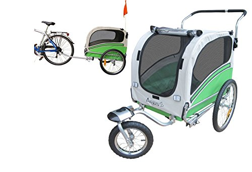 PAPILIOSHOP ARGO Remorque à vélo et poussette...