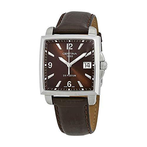 Certina Ladies relojes DS Podium Lady cuadrado c001.310.16.297.00–2