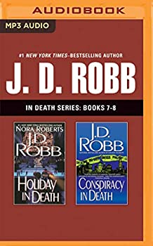 MP3 CD J. D. Robb: In Death Series, Books 7-8: Holiday in Death, Conspiracy in Death Book